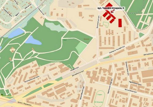Мапа місцезнаходження